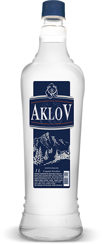 Aklov 1000 ml Pet x 6 un.